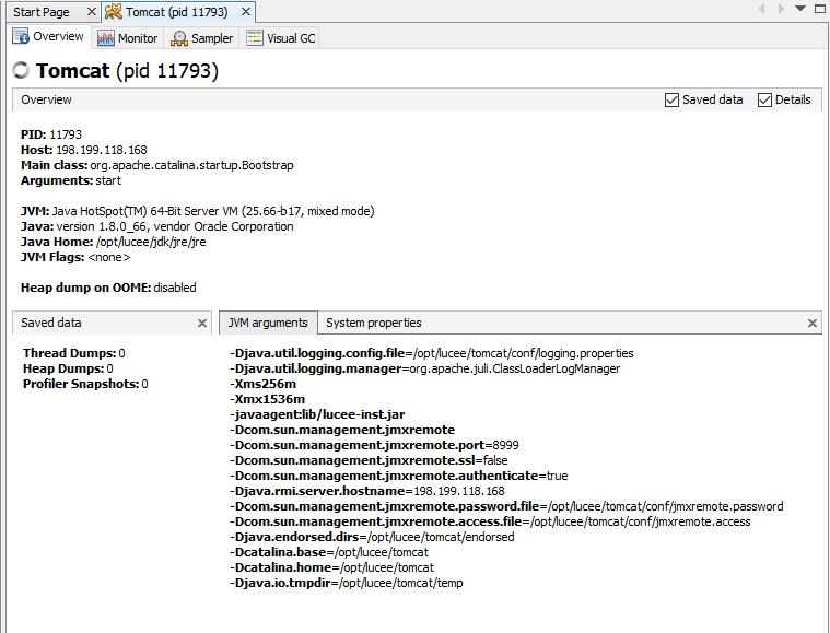 Java Virtual Machine · Lucee